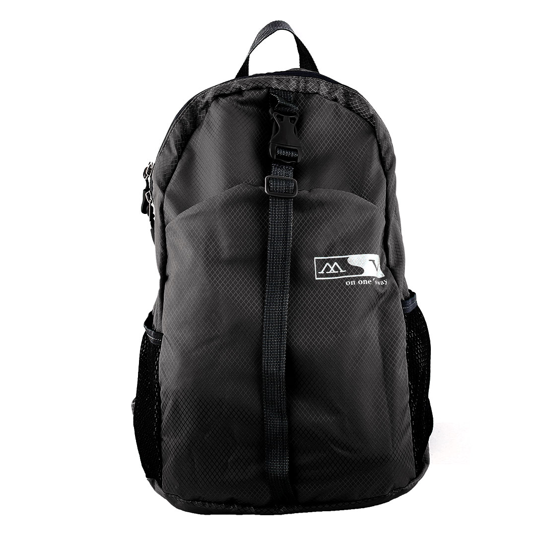 Lightweight Foldable Pack Hiking Camping Daypack Water Resistant Travel Backpack Sport Bag Black 20L
