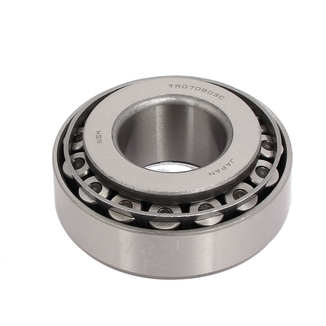 070803C 80mmx34mmx30mm Single Row Tapered Roller Bearing Silver Tone
