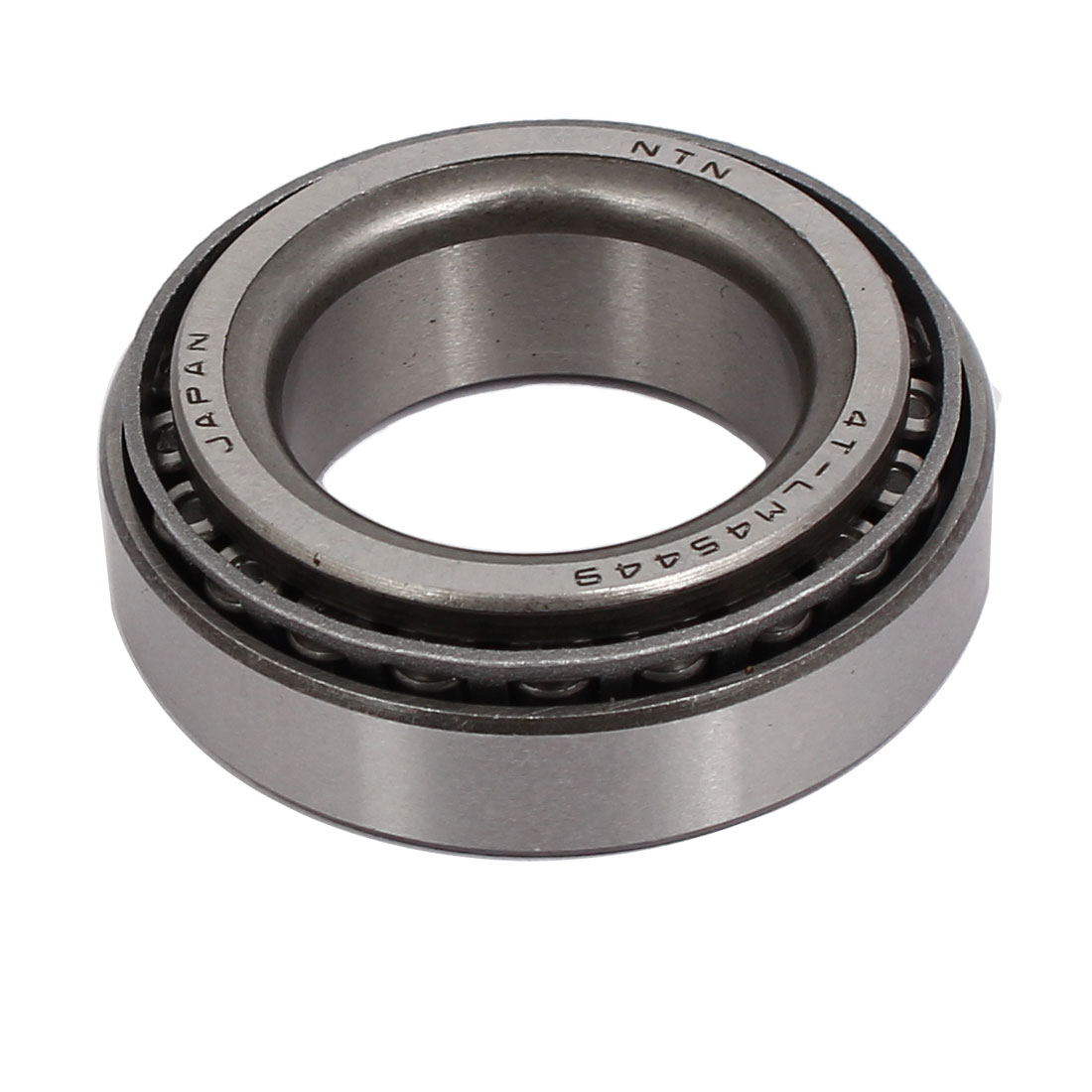 LM45449/10 50mmx28mmx15mm Single Row Tapered Roller Bearing Silver Tone