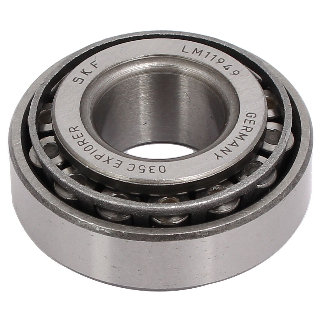 LM11949/10 45mmx19mmx17mm Single Row Tapered Roller Bearing Silver Tone