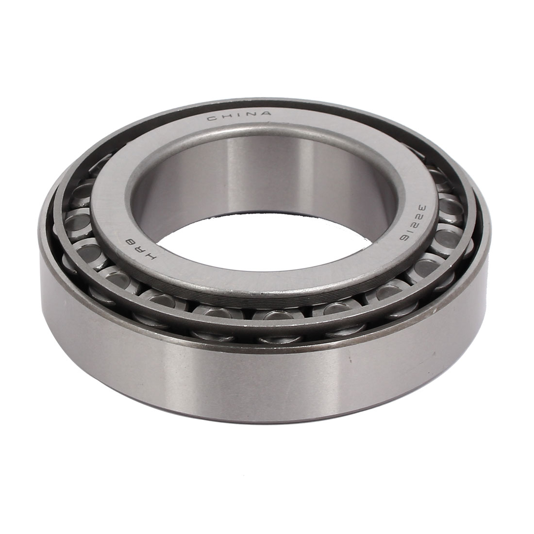 140mmx79mmx37mm 32216 Single Row Tapered Roller Bearing Silver Tone
