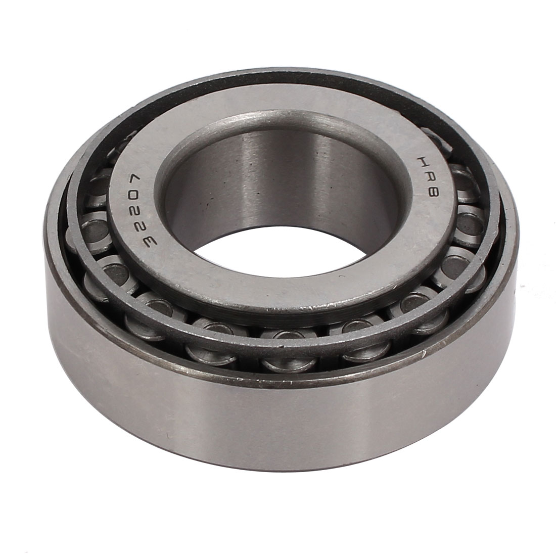 72mmx35mmx24mm 32207 Single Row Tapered Roller Bearing Silver Tone