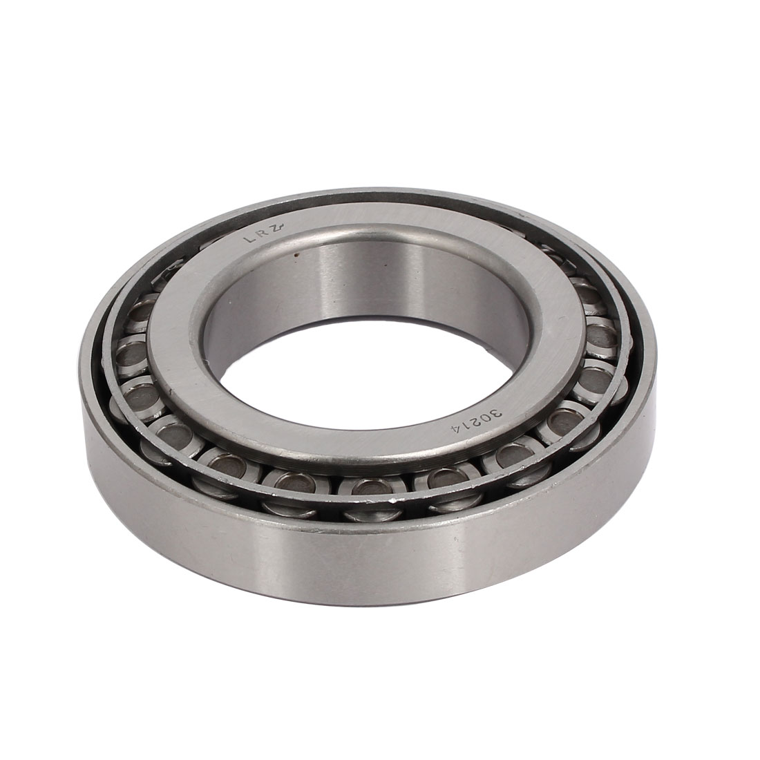 125mmx70mmx28mm 30214 Single Row Tapered Roller Bearing Silver Tone