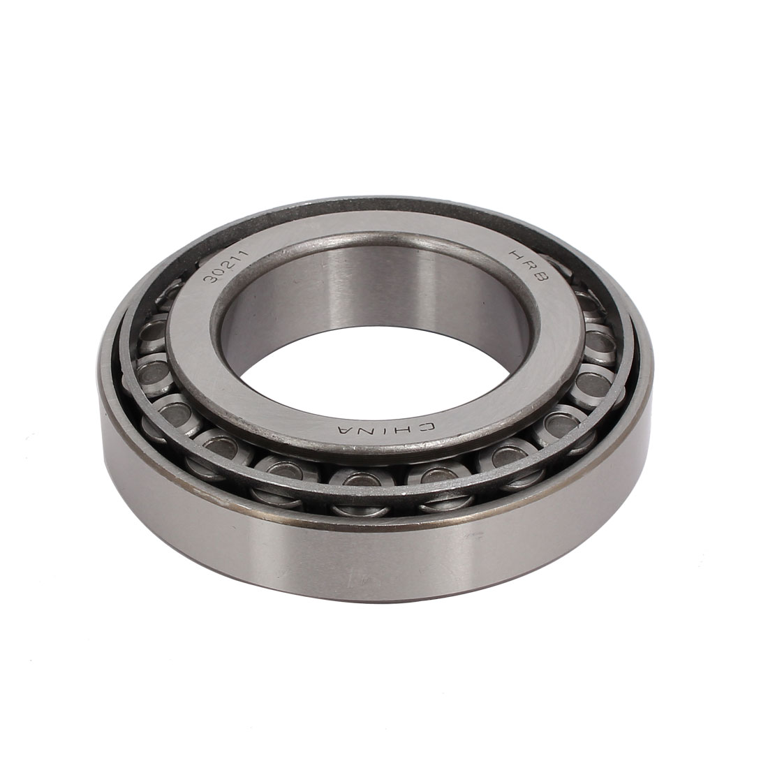 100mmx55mmx25mm 30211 Single Row Tapered Roller Bearing Silver Tone
