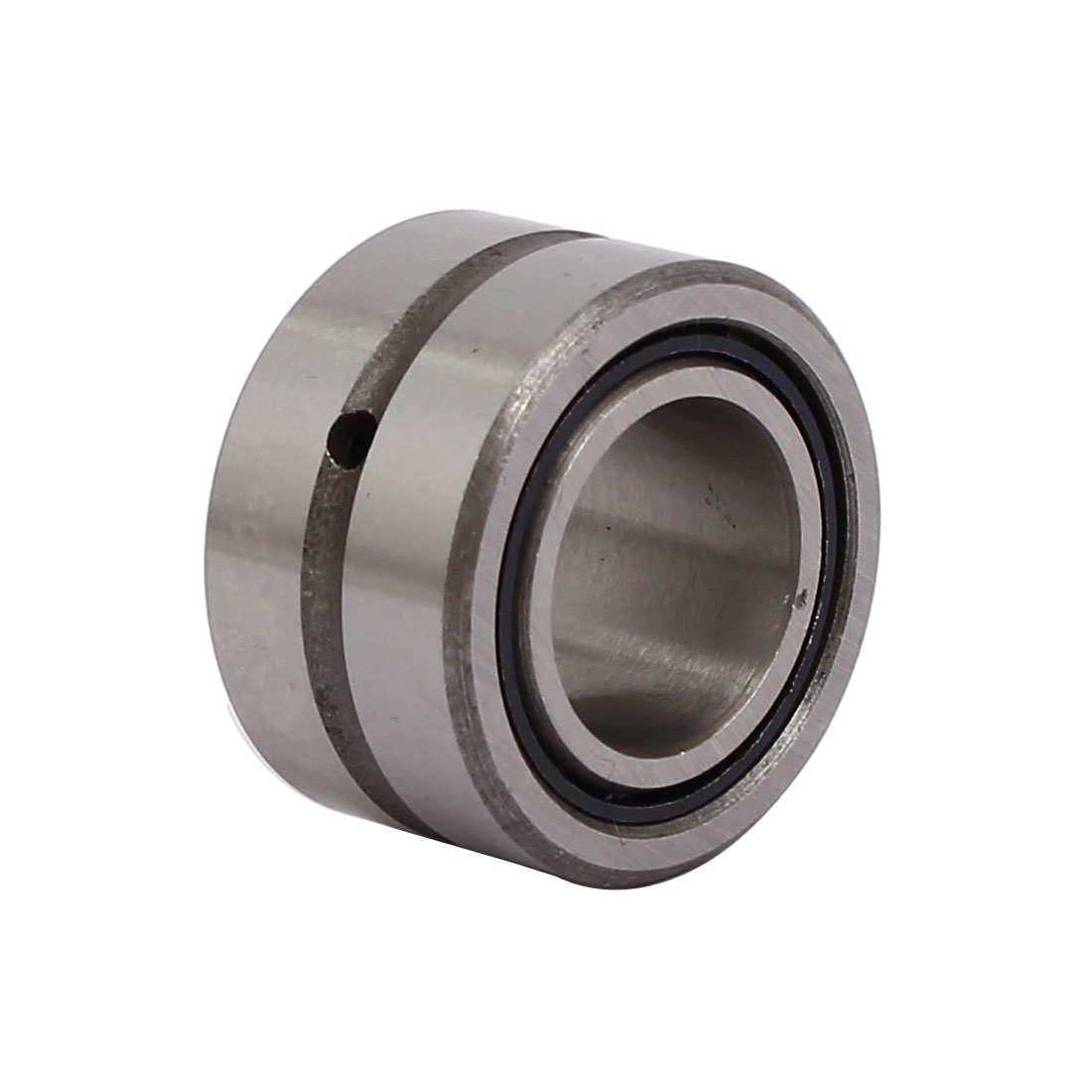 NKI15/16 27mmx15mmx16mm Full Complement Drawn Cup Needle Roller Bearing Silver Tone