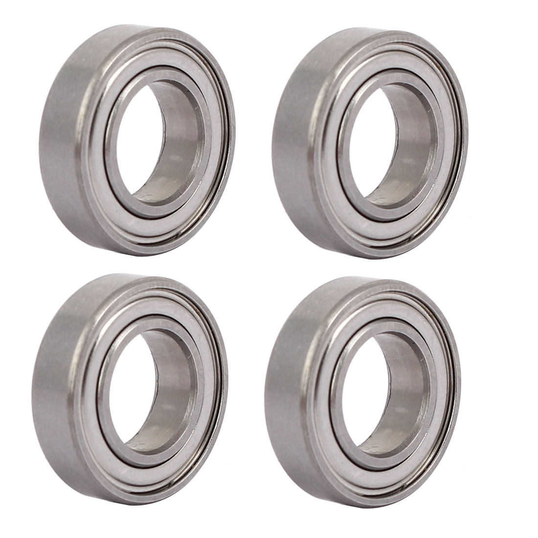 19mmx10mmx5mm 6800 Stainless Steel Shielded Deep Groove Ball Bearing 4pcs