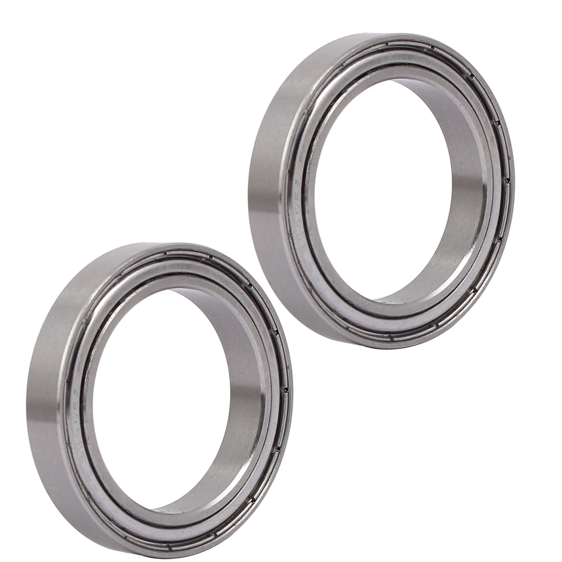42mmx30mmx7mm 6806 Stainless Steel Shielded Deep Groove Ball Bearing 2pcs