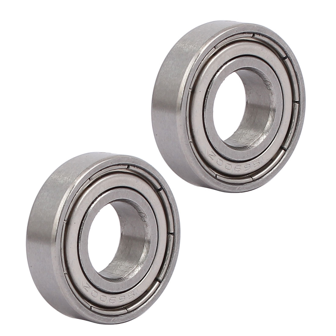 22mmx10mmx6mm 6900 Stainless Steel Shielded Deep Groove Ball Bearing 2pcs