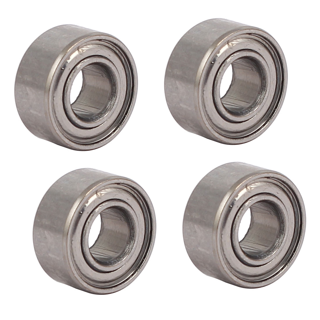 11mmx5mmx5mm 685 Stainless Steel Shielded Deep Groove Ball Bearing 4pcs