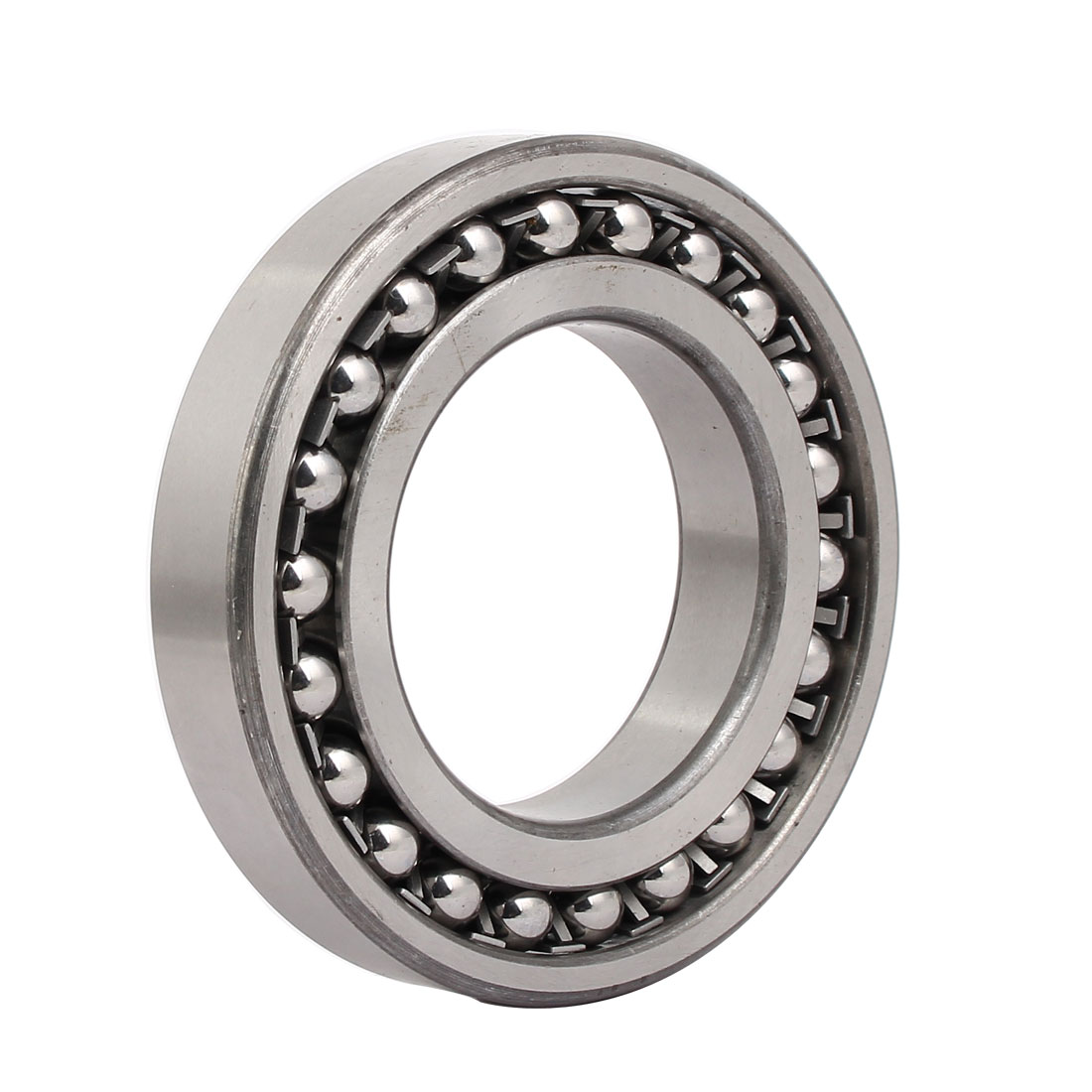 140mmx80mmx26mm 1216 Double Row Self-Aligning Ball Bearing Silver Tone