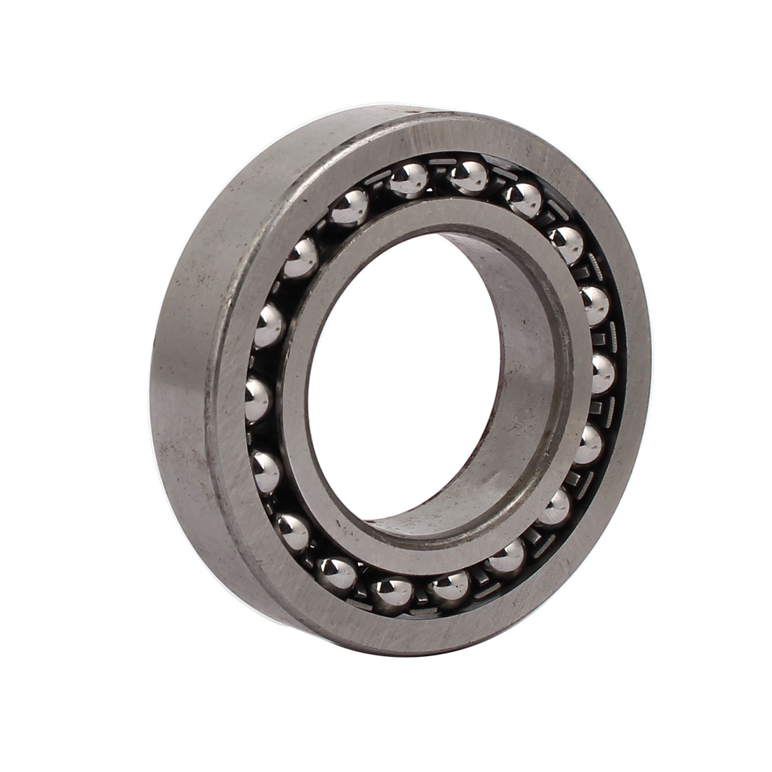 90mmx50mmx20mm 1210 Double Row Self-Aligning Ball Bearing Silver Tone