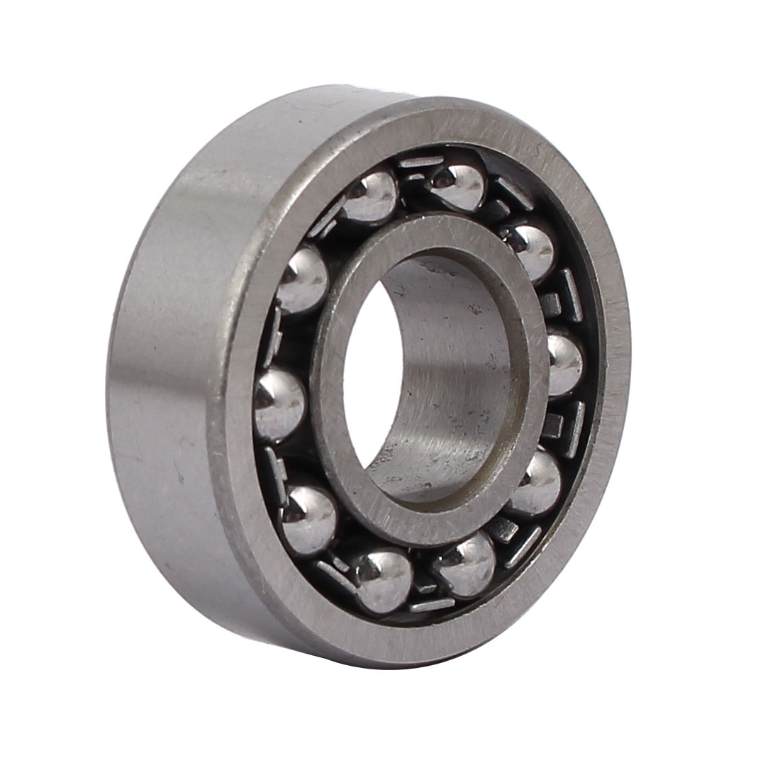 35mmx15mmx11mm 1202 Double Row Self-Aligning Ball Bearing Silver Tone