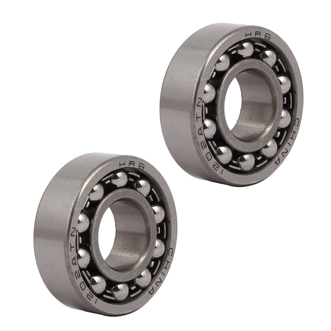 35mmx15mmx11mm 1202 Double Row Self-Aligning Ball Bearing 2pcs
