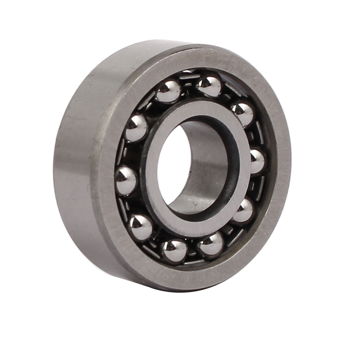 32mmx12mmx10mm 1201 Double Row Self-Aligning Ball Bearing Silver Tone