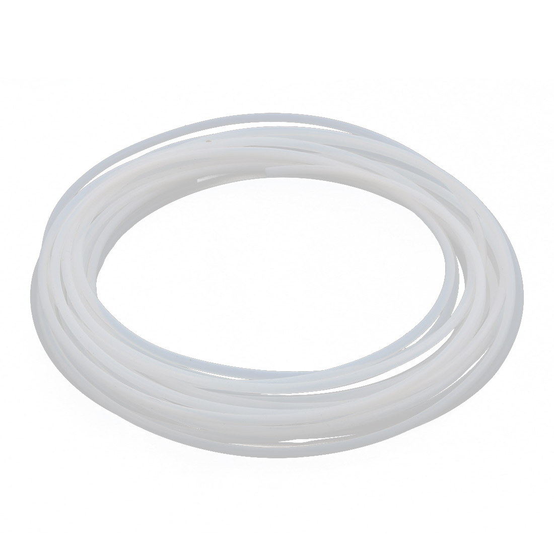 3.38mmx3.78mm PTFE Resistant High Temperature Transparent Tubing 10Meters 32.8Ft