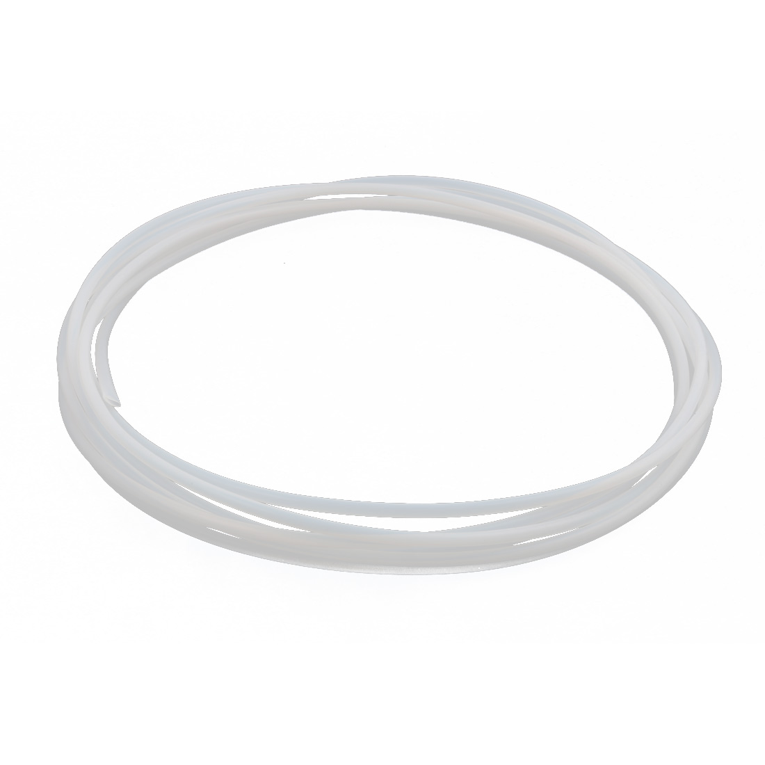 4.22mmx4.72mm PTFE Resistant High Temperature Transparent Tubing 5Meters 16.4Ft