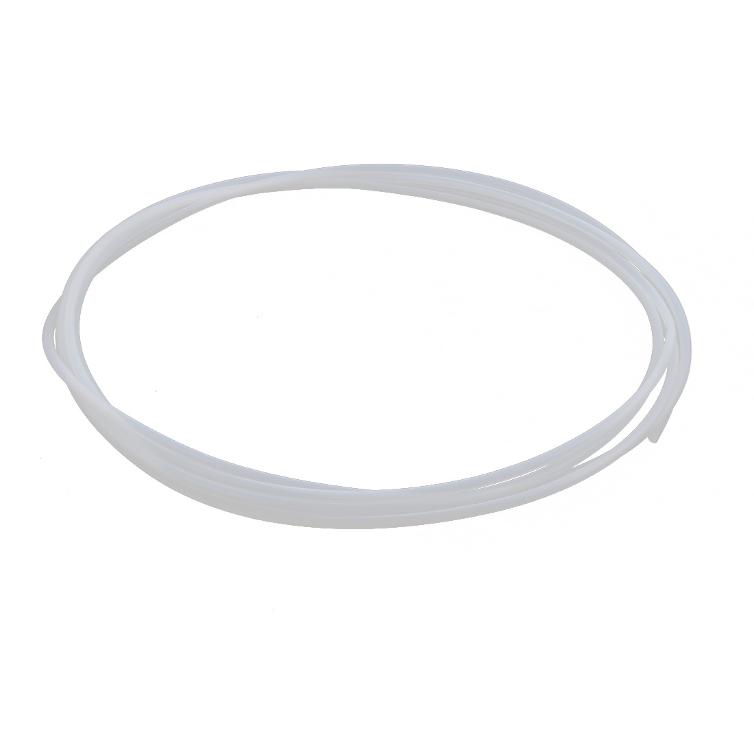 5.88mmx5.28mm PTFE Resistant High Temperature Transparent Tubing 5Meters 16.4Ft 4L