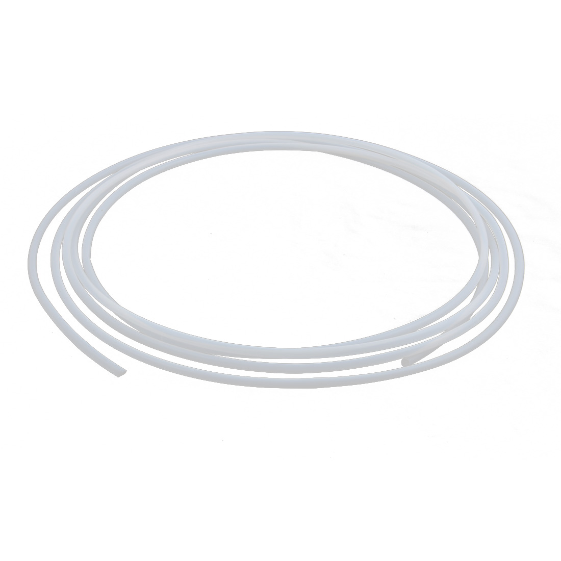 6.54mmx5.94mm PTFE Resistant High Temperature Transparent Tubing 5Meters 16.4Ft