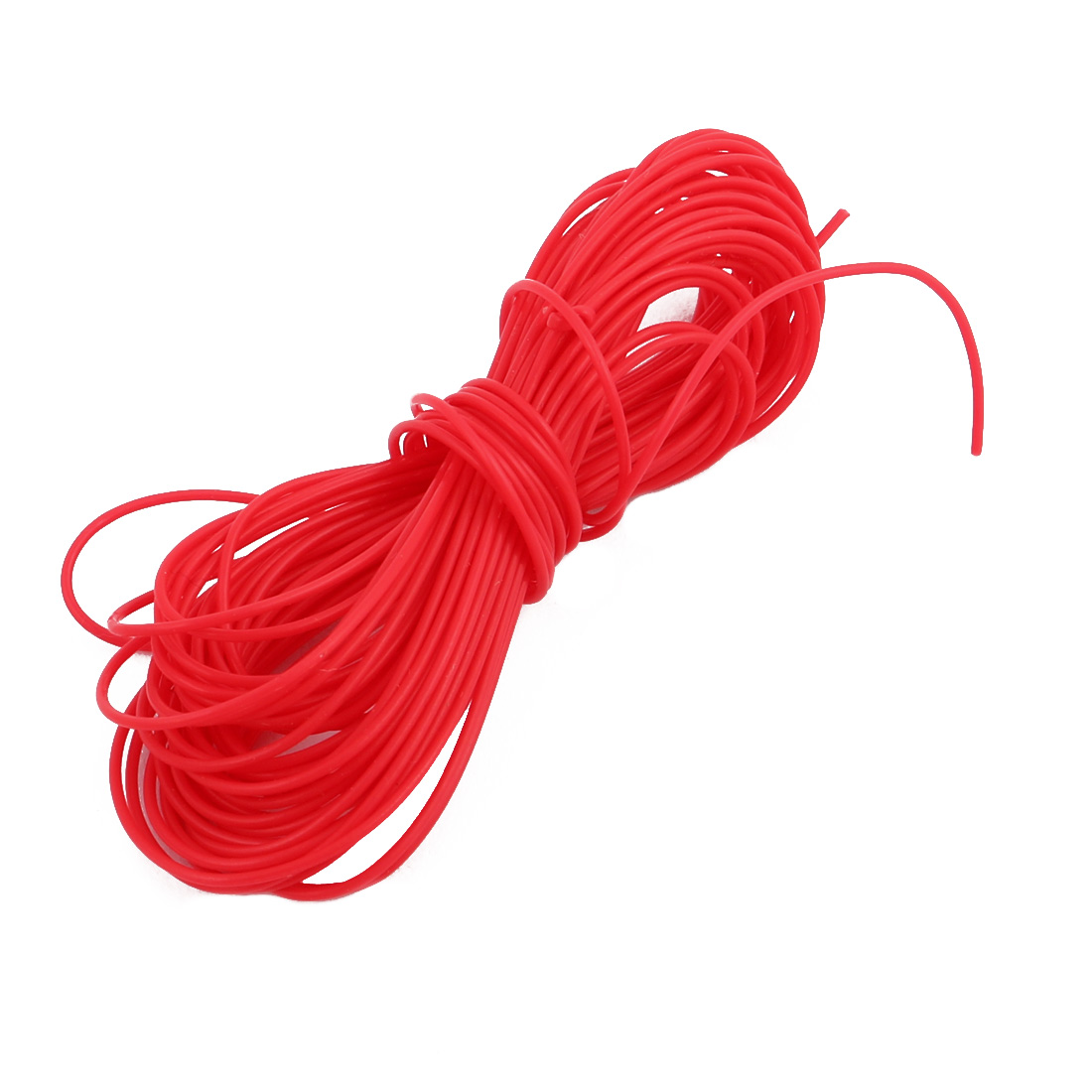 0.3mmx0.6mm PTFE Resistant High Temperature Red Tubing 5 Meters 16.4Ft