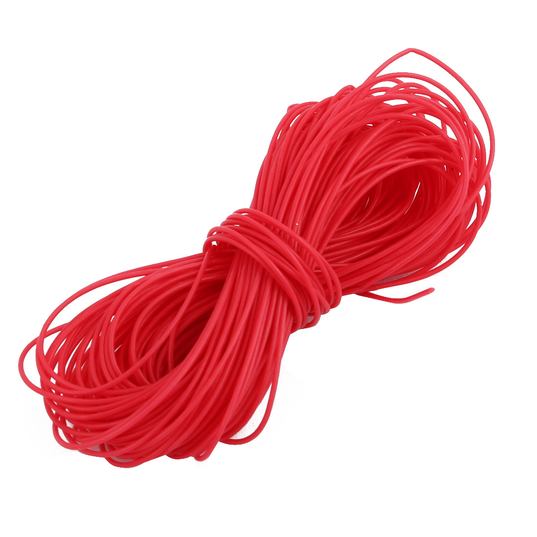 0.38mmx0.68mm PTFE Resistant High Temperature Red Tubing 5 Meters 16.4Ft
