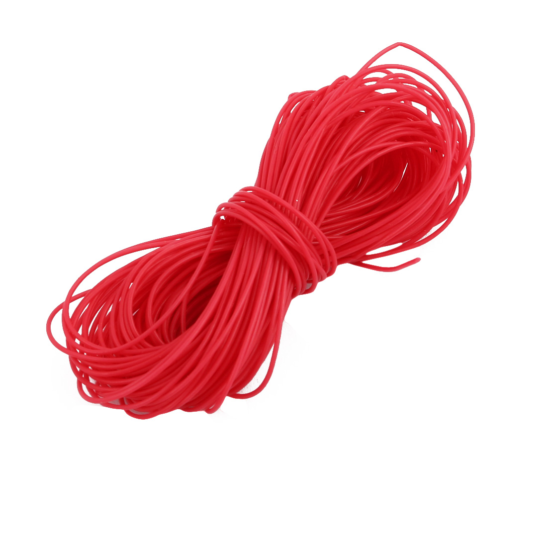 0.38mmx0.68mm PTFE Resistant High Temperature Red Tubing 10 Meters 32.8Ft