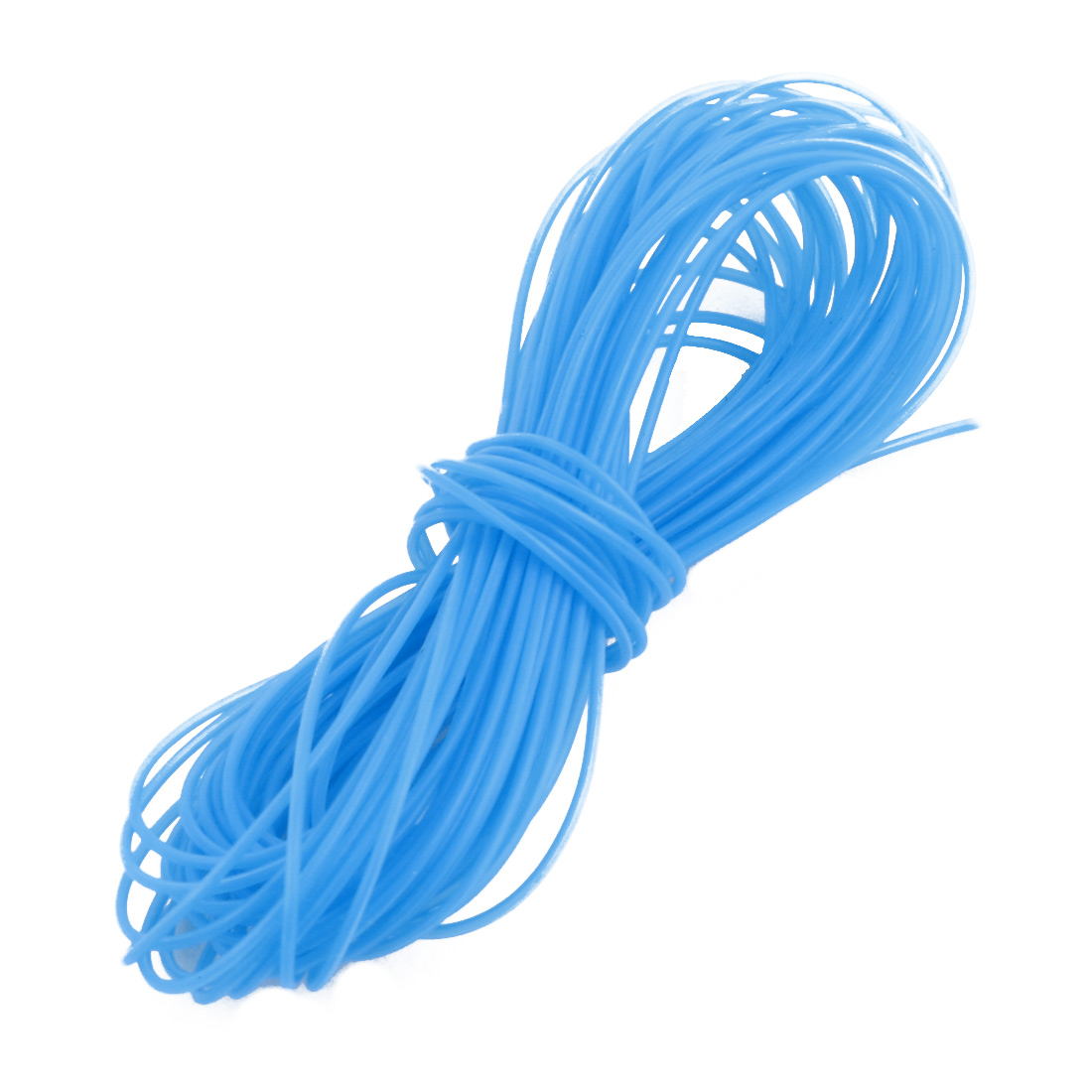 0.38mmx0.68mm PTFE Resistant High Temperature Blue Tubing 5 Meters 16.4Ft