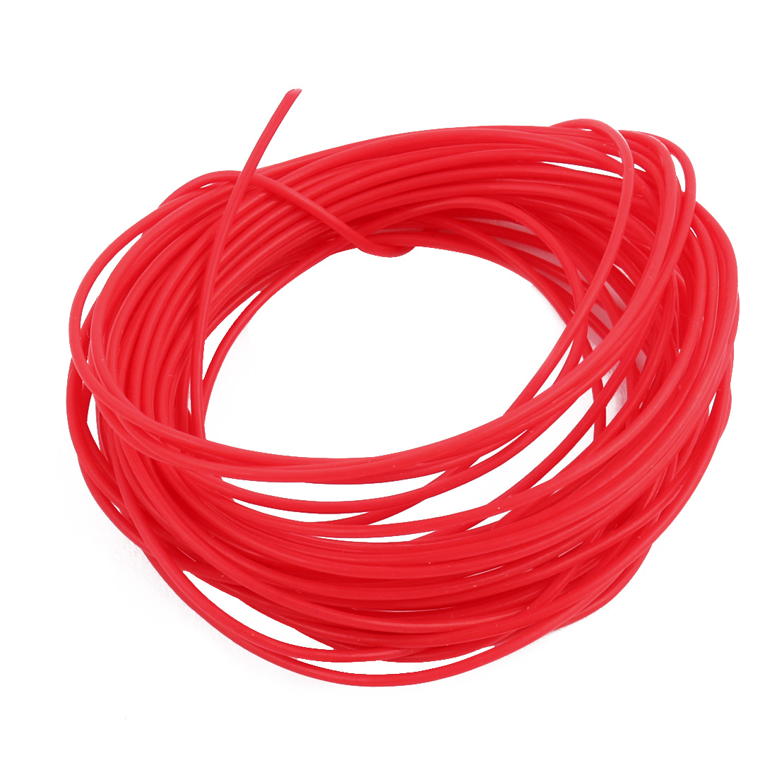 0.56mmx0.86mm PTFE Resistant High Temperature Red Tubing 10 Meters 32.8Ft