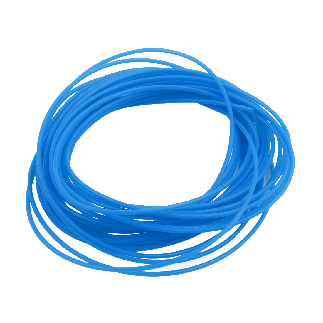 0.66mmx0.96mm PTFE Resistant High Temperature Blue Tubing 5 Meters 16.4Ft
