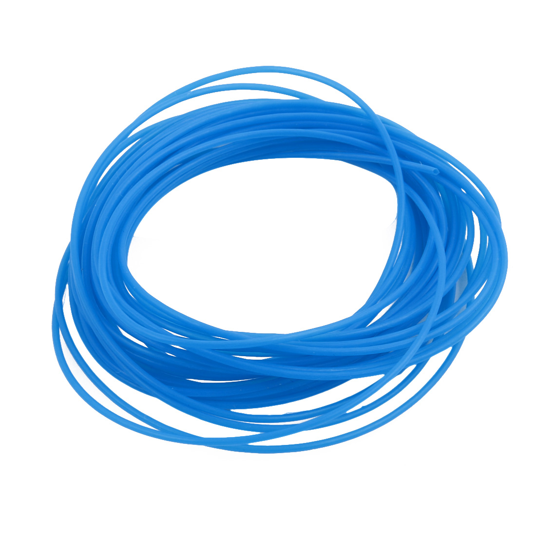 0.71mmx1.01mm PTFE Resistant High Temperature Blue Tubing 5 Meters 16.4Ft