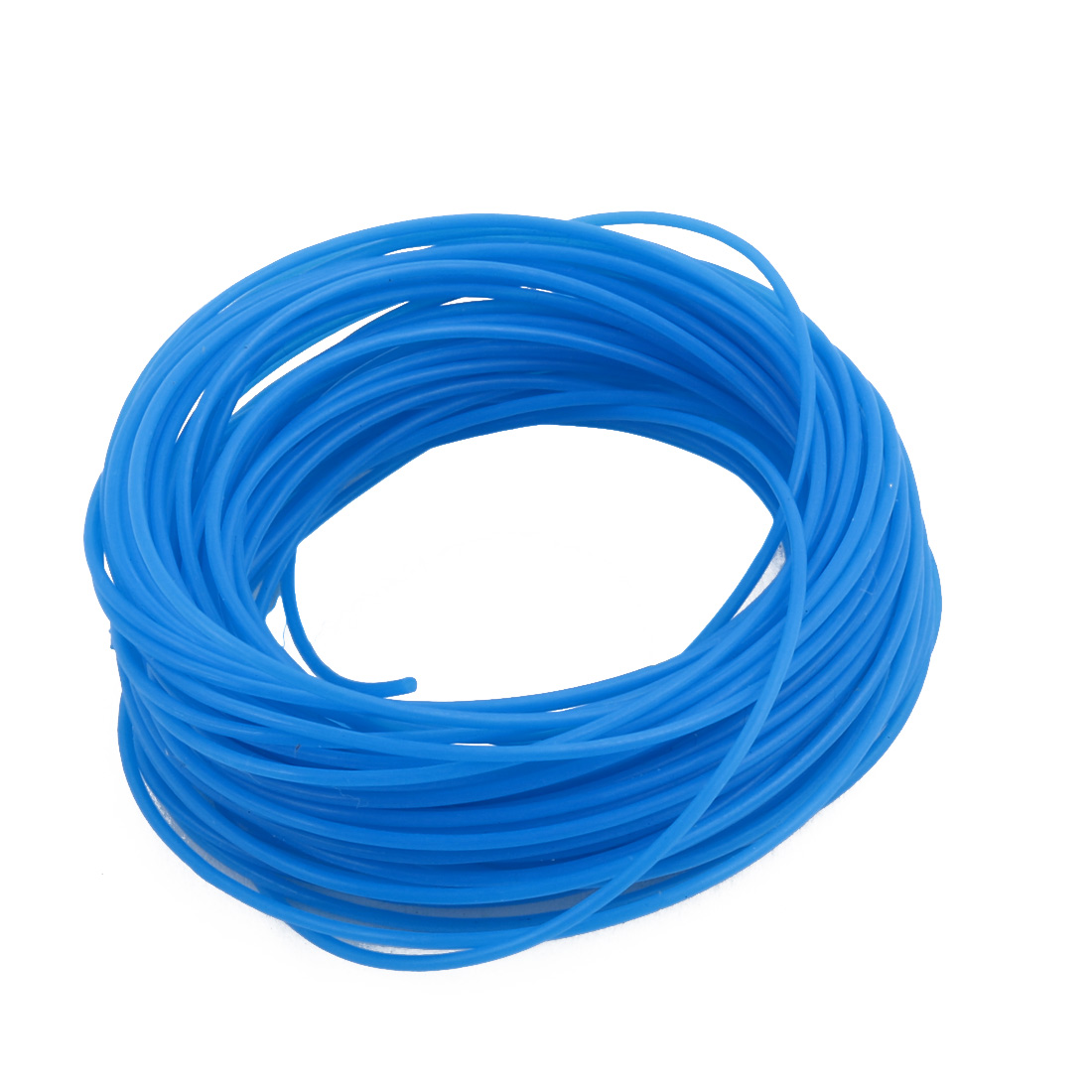 0.71mmx1.01mm PTFE Resistant High Temperature Blue Tubing 10 Meters 32.8Ft