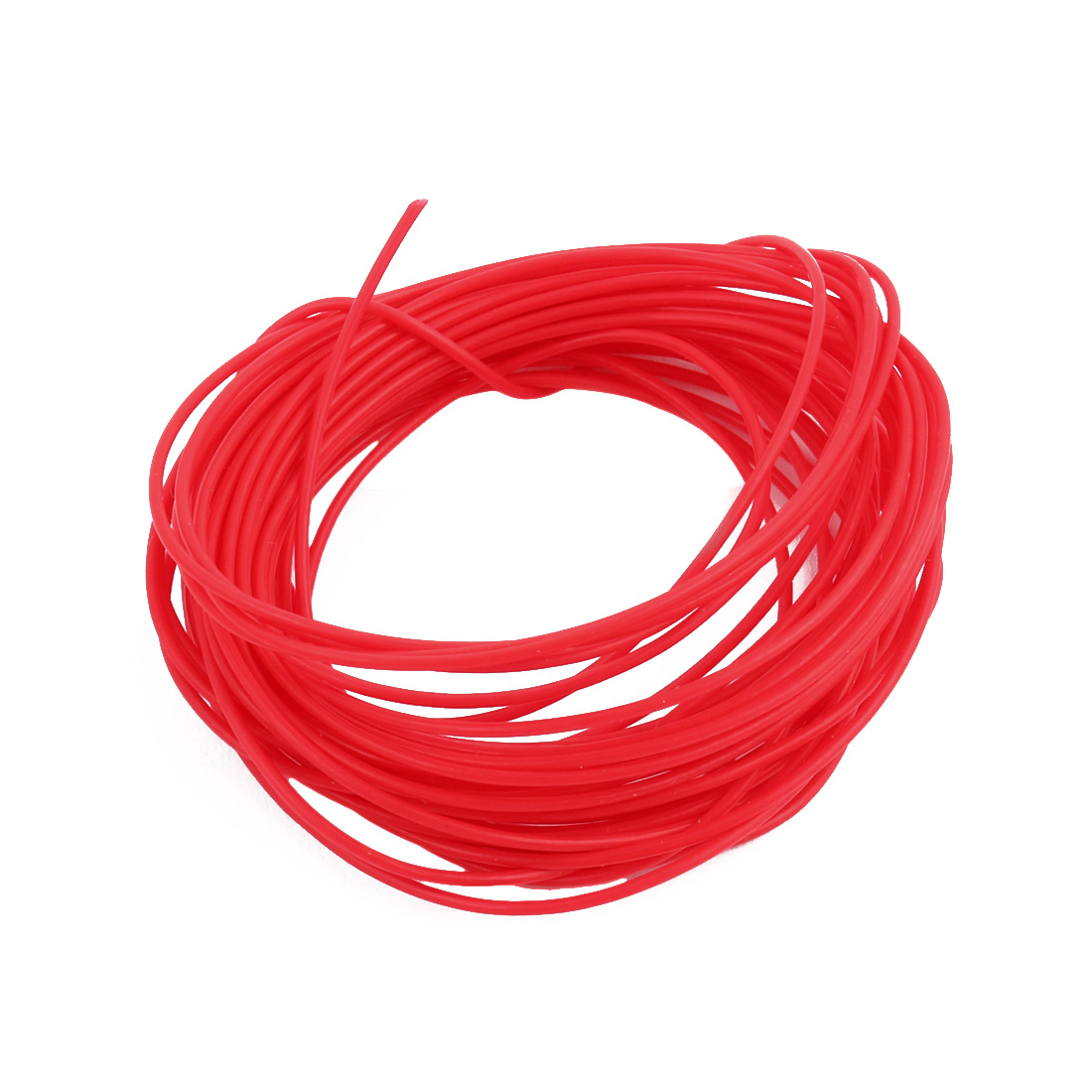 0.81mmx1.11mm PTFE Resistant High Temperature Red Tubing 5 Meters 16.4Ft