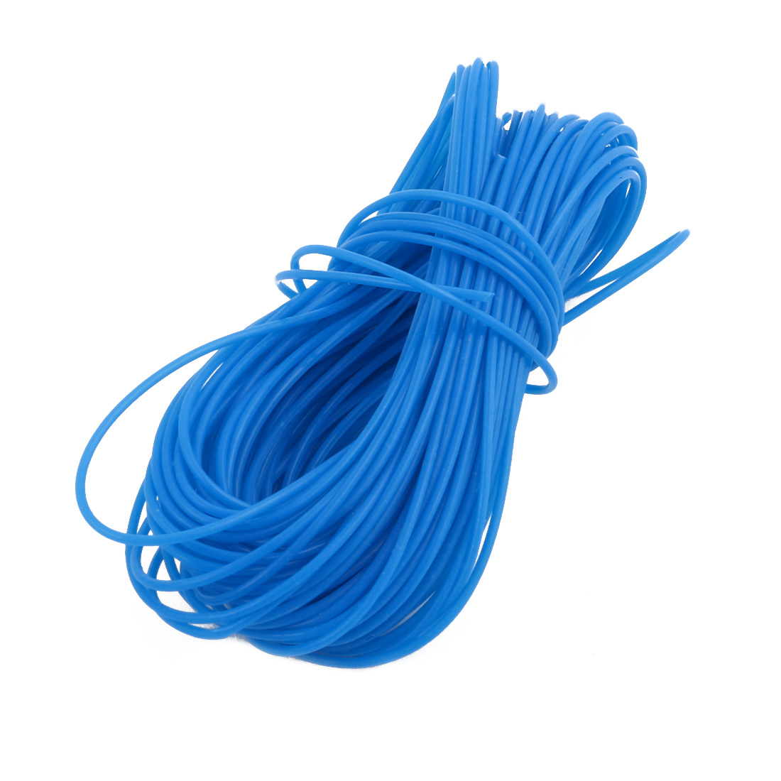0.81mmx1.11mm PTFE Resistant High Temperature Blue Tubing 10 Meters 32.8Ft