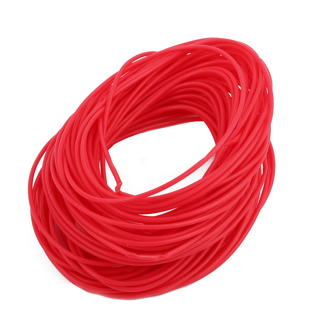 0.86mmx1.16mm PTFE Resistant High Temperature Red Tubing 10 Meters 32.8Ft