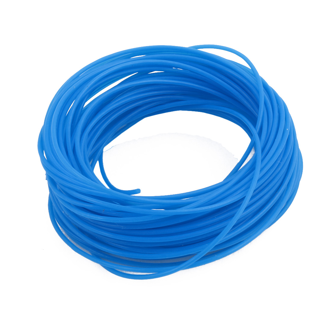 0.86mmx1.16mm PTFE Resistant High Temperature Blue Tubing 5 Meters 16.4Ft