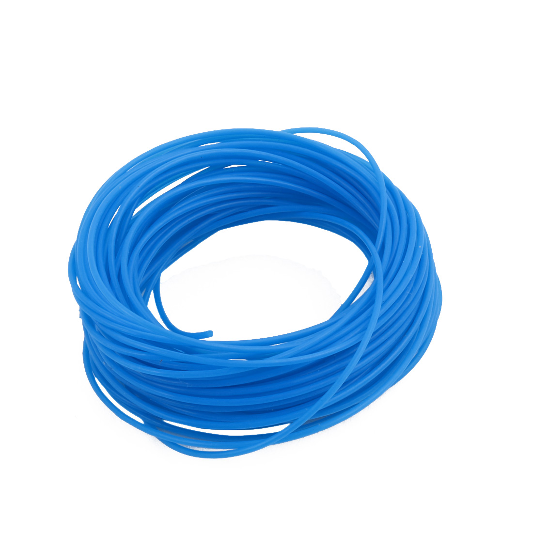 0.86mmx1.16mm PTFE Resistant High Temperature Blue Tubing 10 Meters 32.8Ft