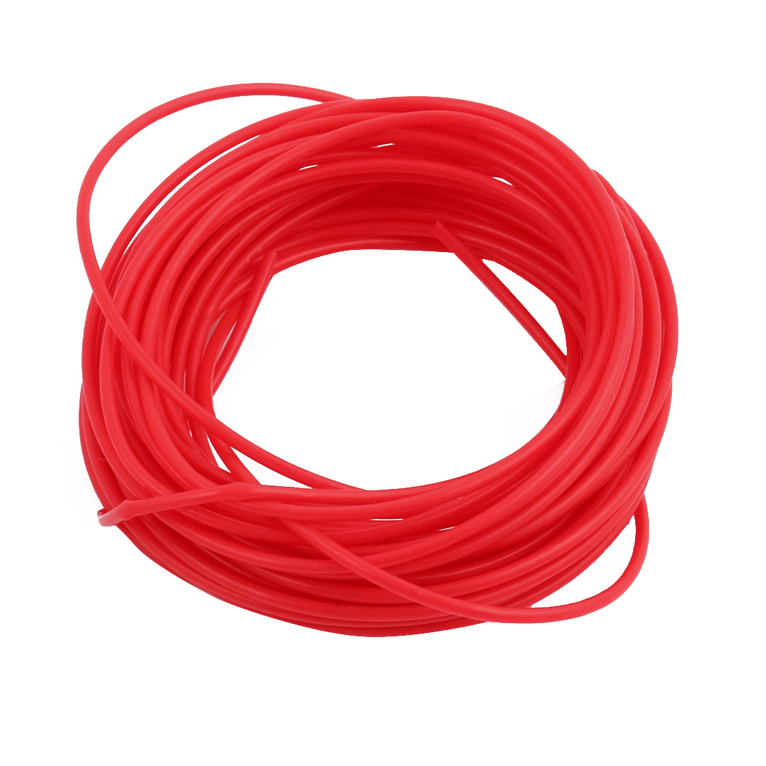1.07mmx1.37mm PTFE Resistant High Temperature Red Tubing 10 Meters 32.8Ft