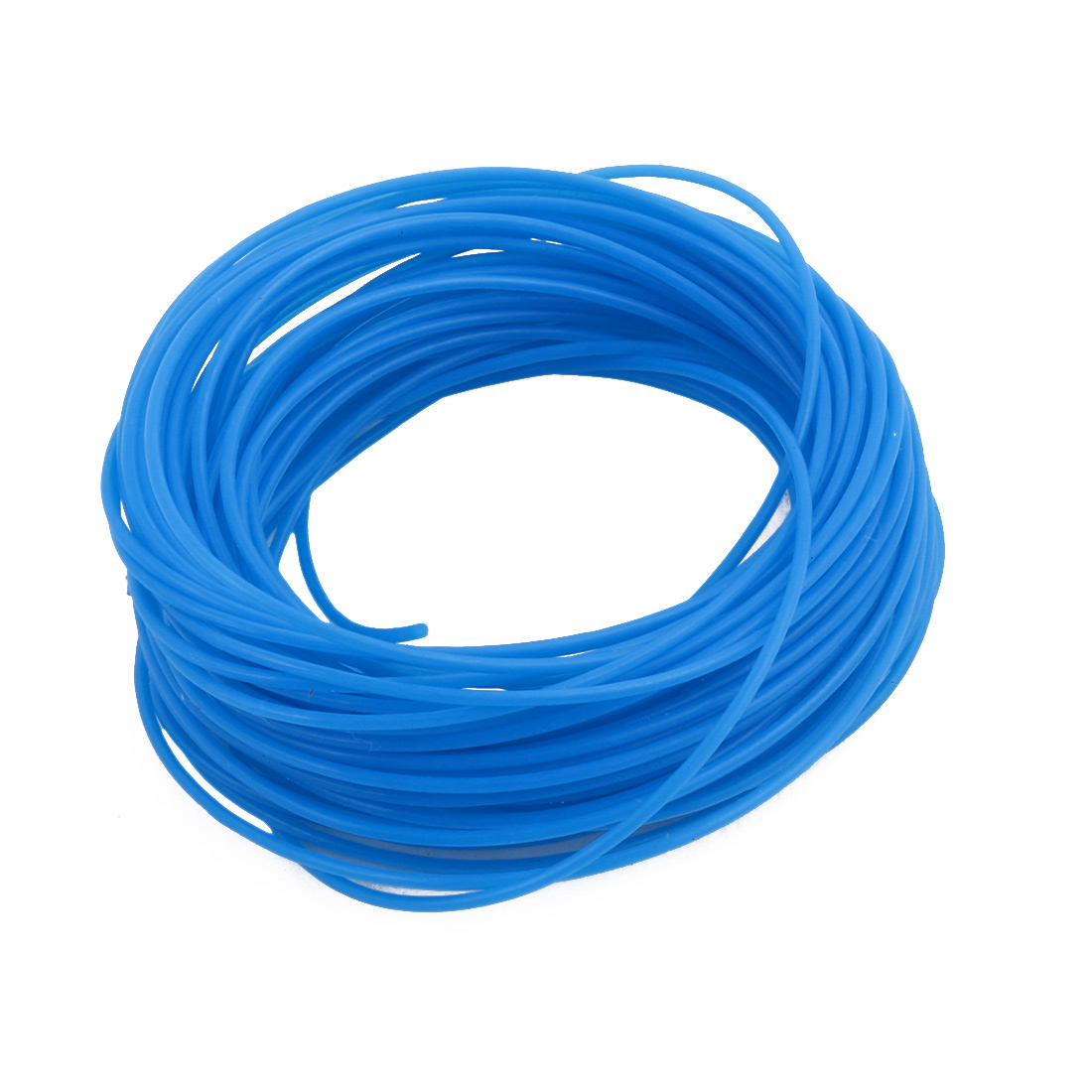 0.96mm x 1.26mm PTFE Resistant High Temperature Blue Tubing 5 Meters 16.4Ft