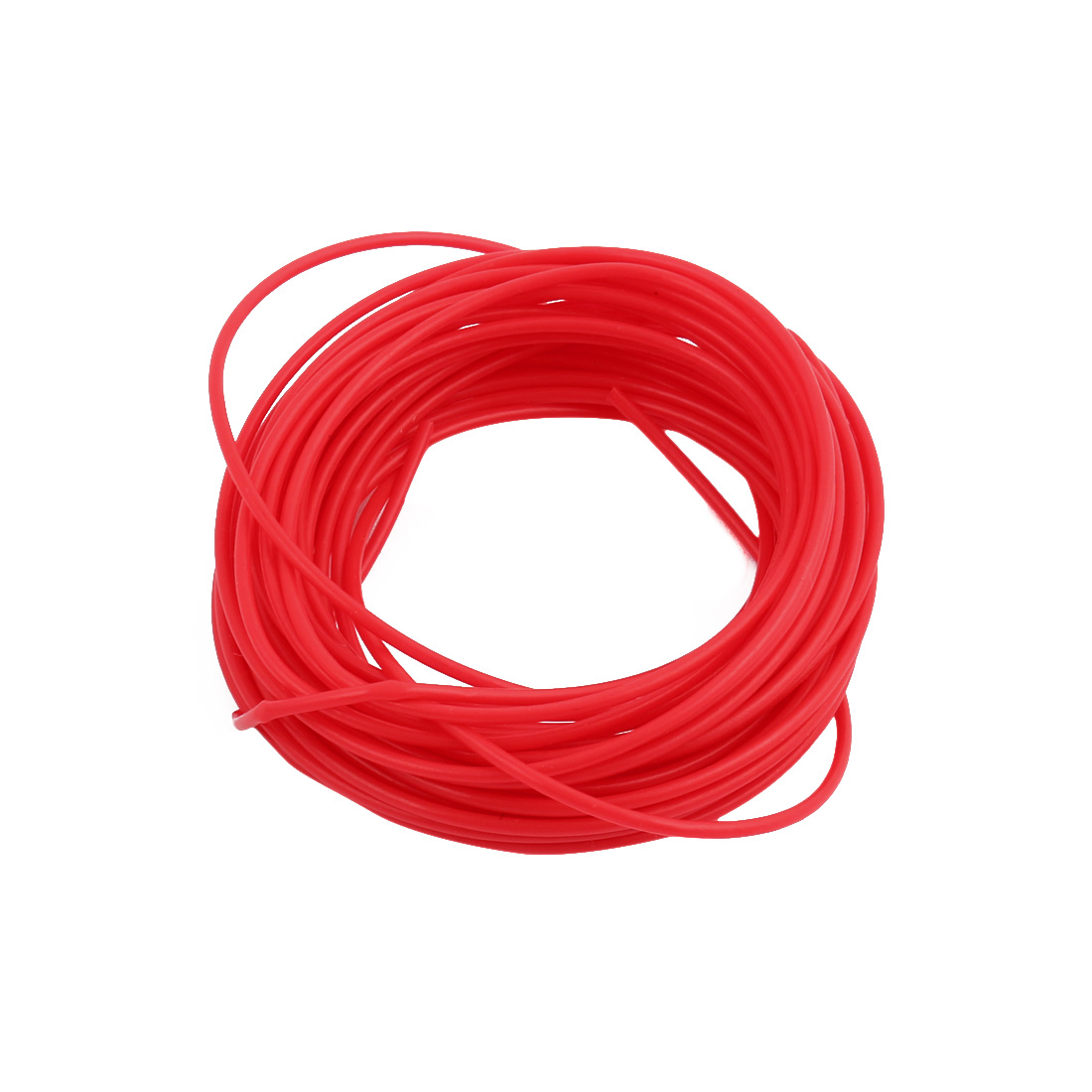 1.19mmx1.49mm PTFE Resistant High Temperature Red Tubing 5 Meters 16.4Ft