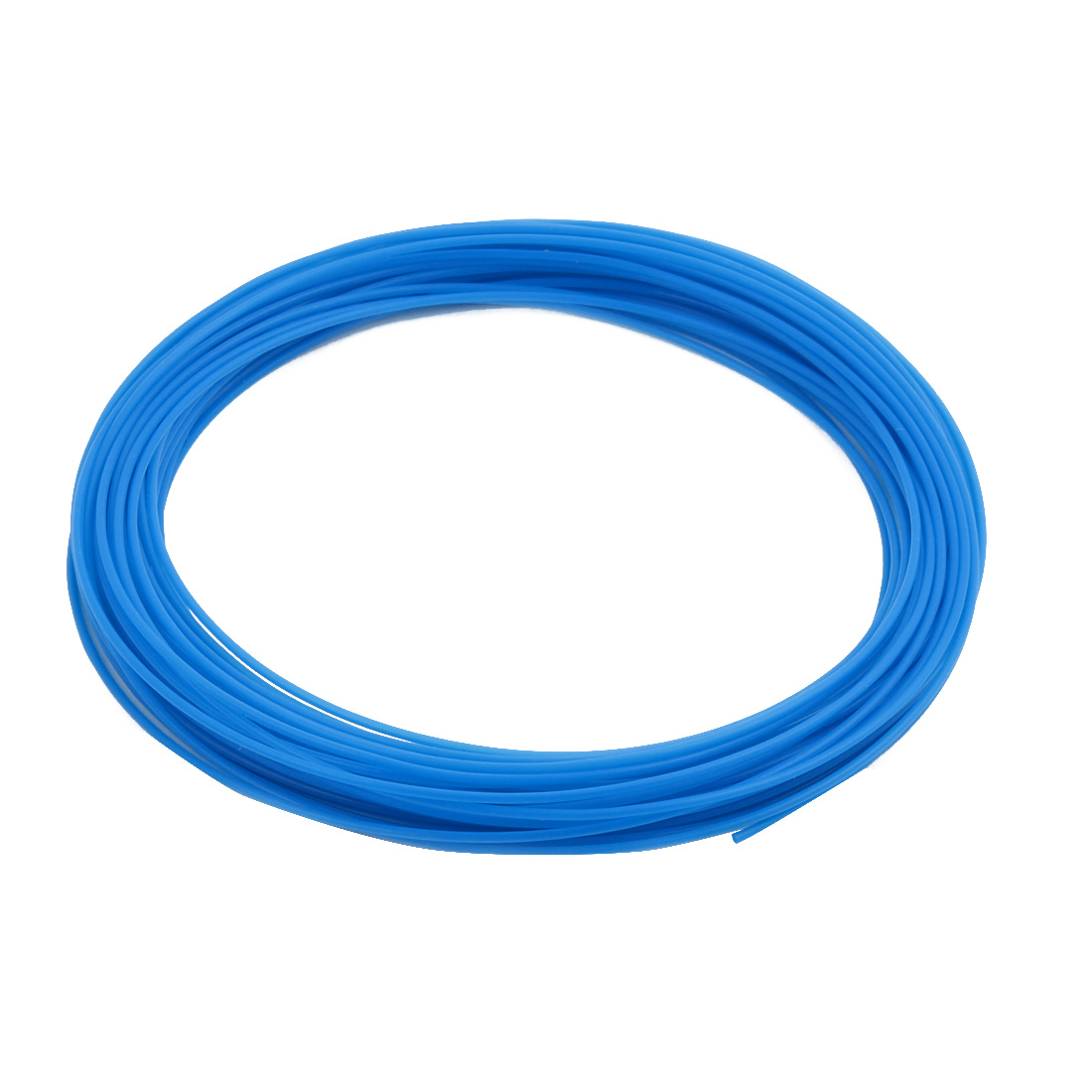 1.19mmx1.49mm PTFE Resistant High Temperature Blue Tubing 10 Meters 32.8Ft