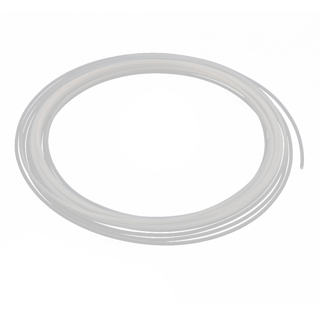 1.19mmx1.49mm PTFE Resistant High Temperature Transparent Tubing 5Meters 16.4Ft