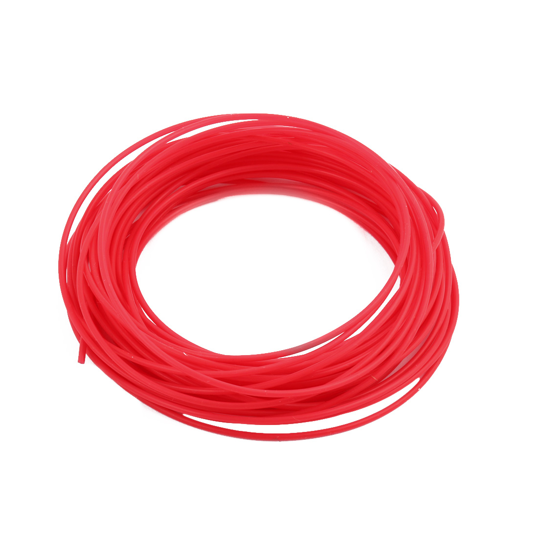 1.34mmx1.64mm PTFE Resistant High Temperature Red Tubing 10 Meters 32.8Ft