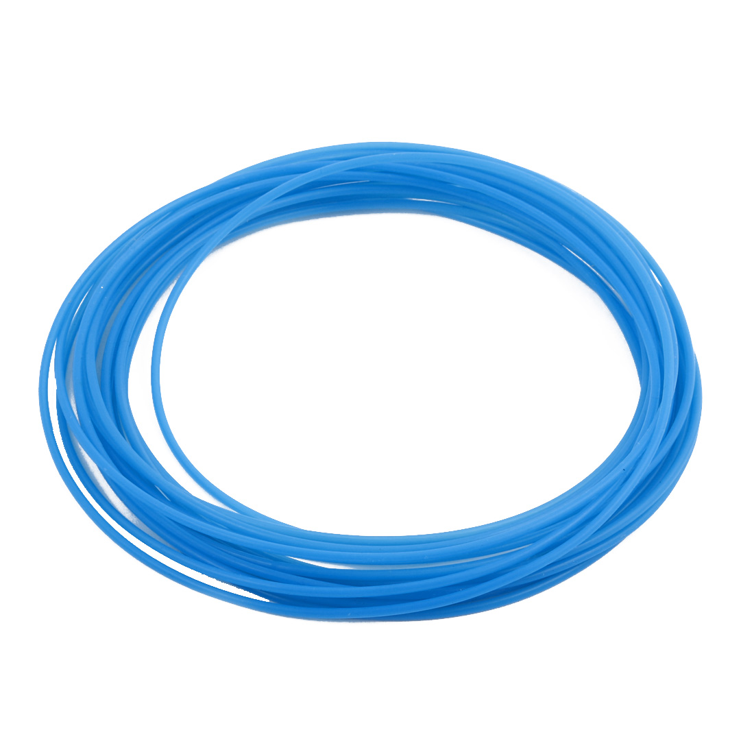 1.34mmx1.64mm PTFE Resistant High Temperature Blue Tubing 5 Meters 16.4Ft