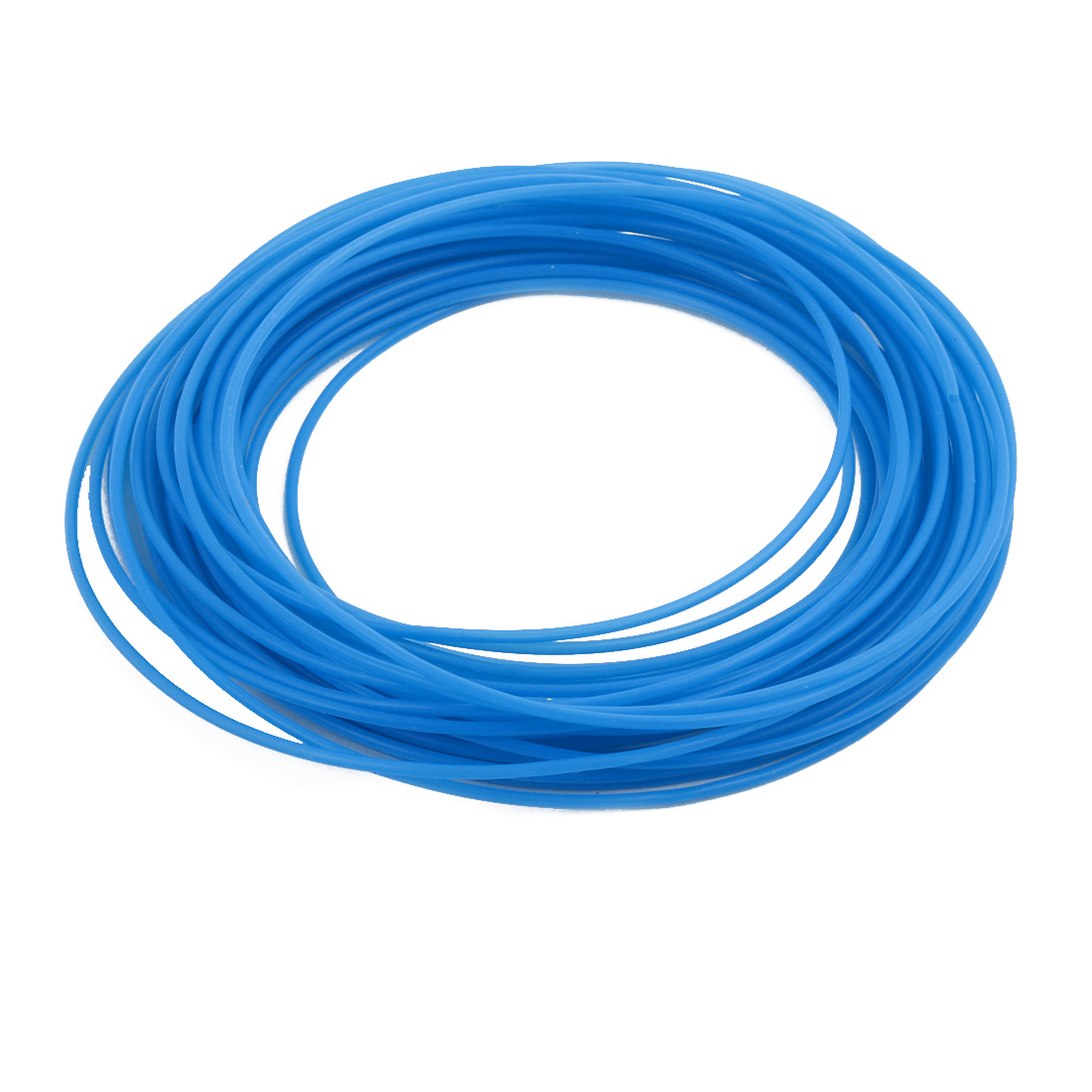 1.34mmx1.64mm PTFE Resistant High Temperature Blue Tubing 10 Meters 32.8Ft