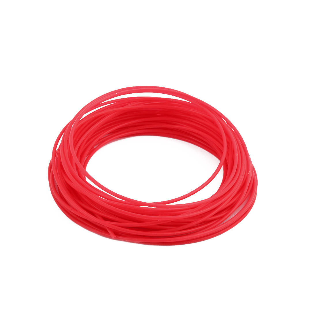 1.5mmx1.8mm PTFE Resistant High Temperature Red Tubing 10 Meters 32.8Ft