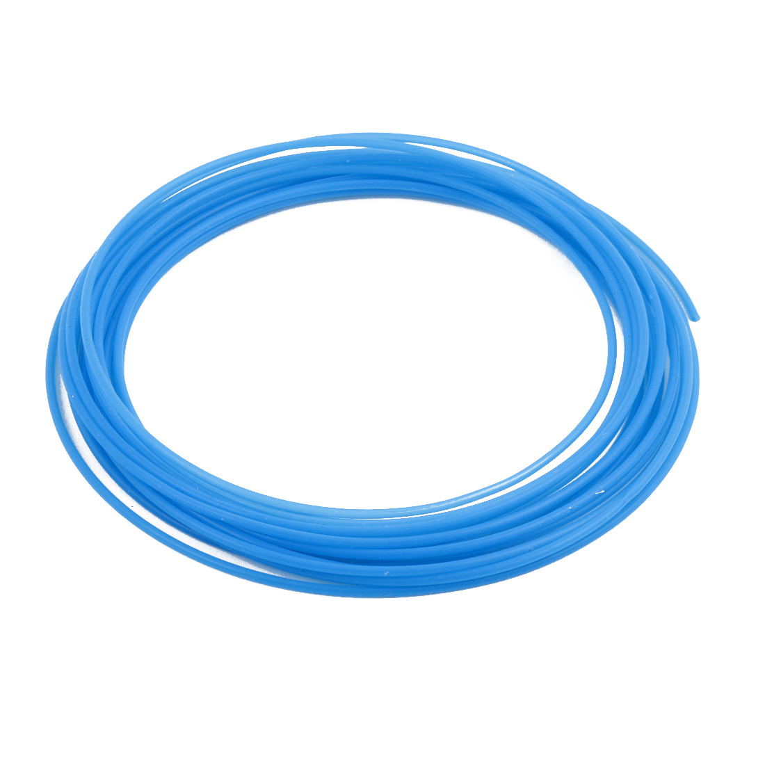 1.5mmx1.8mm PTFE Resistant High Temperature Blue Tubing 5 Meters 16.4Ft
