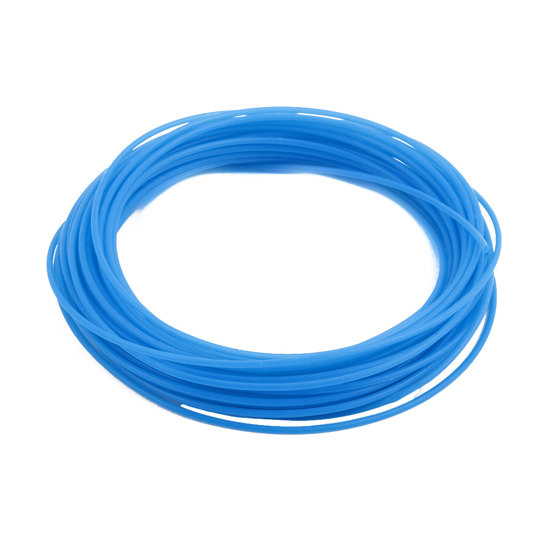1.5mmx1.8mm PTFE Resistant High Temperature Blue Tubing 10 Meters 32.8Ft