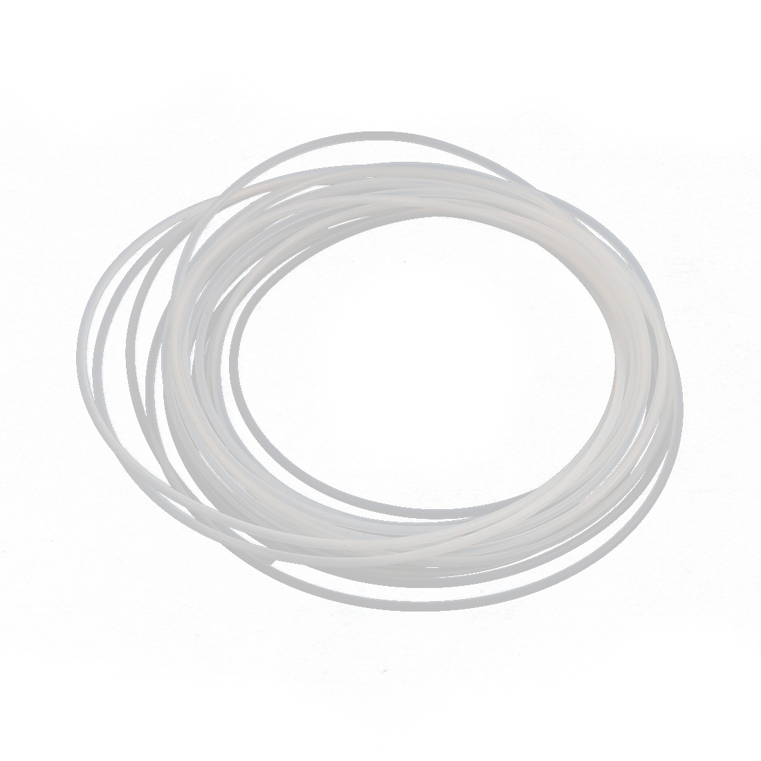 1.5mmx1.8mm PTFE Resistant High Temperature Transparent Tubing 5Meters 16.4Ft