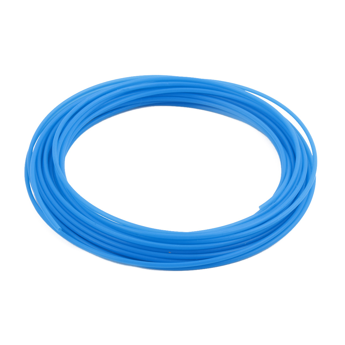 2.16mmx2.56mm PTFE Resistant High Temperature Blue Tubing 10 Meters 32.8Ft