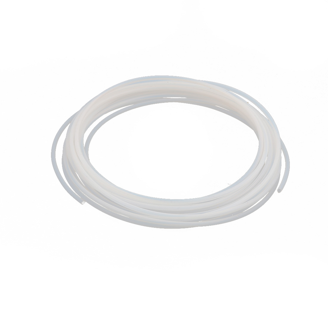 2.16mmx2.56mm PTFE Resistant High Temperature Transparent Tubing 5Meters 16.4Ft