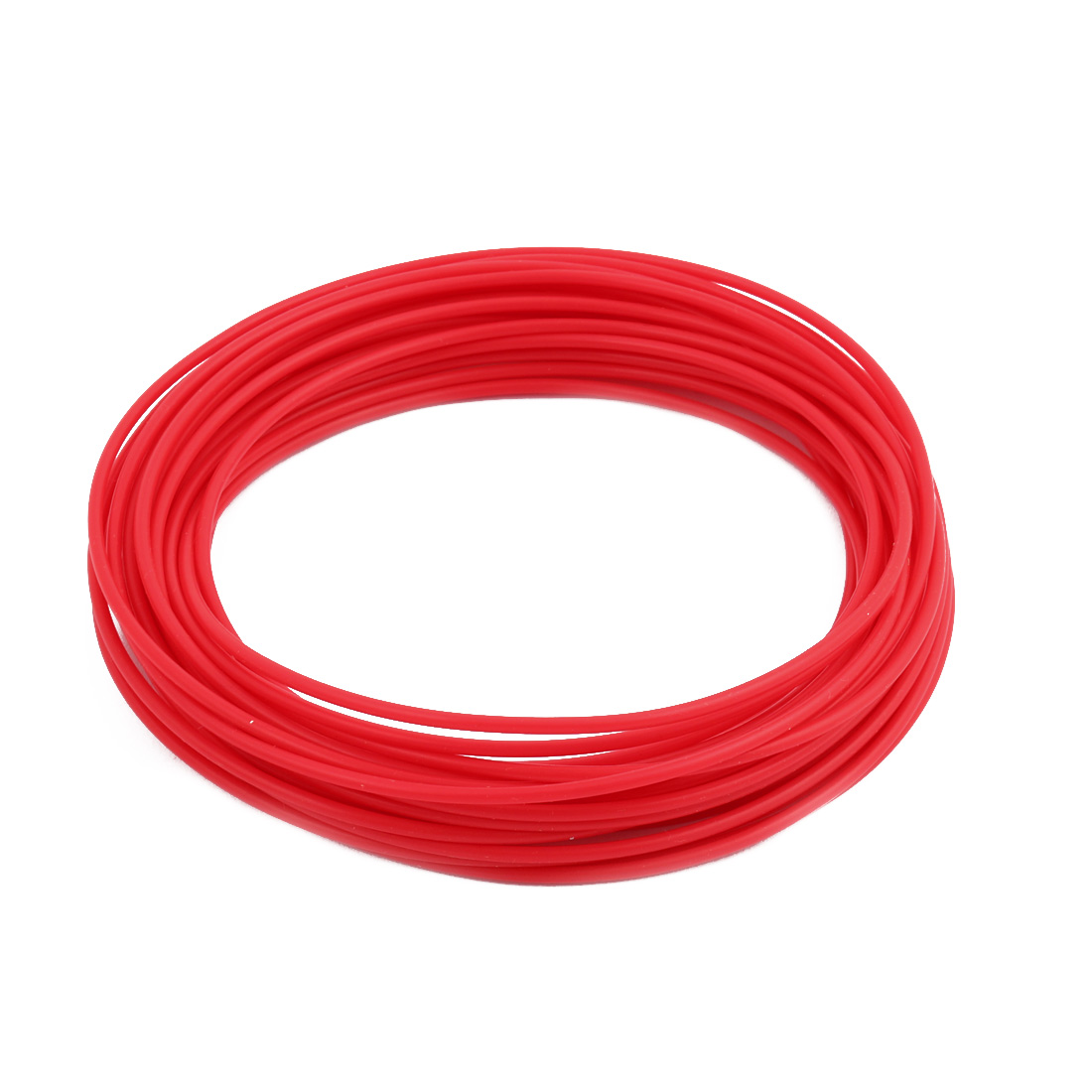 1.93mmx2.33mm PTFE Resistant High Temperature Red Tubing 10 Meters 32.8Ft